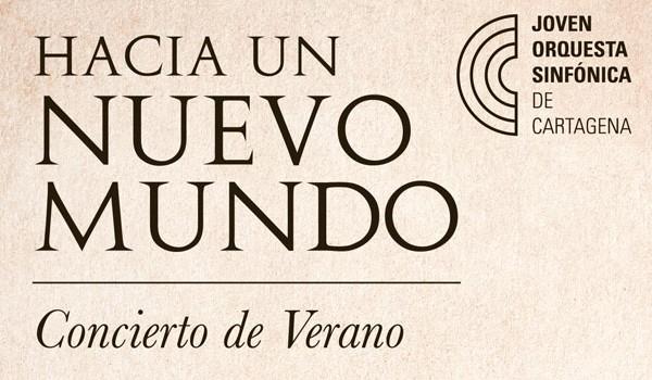 La Joven Orquesta Sinfónica de Cartagena celebra su IV Concierto de Verano