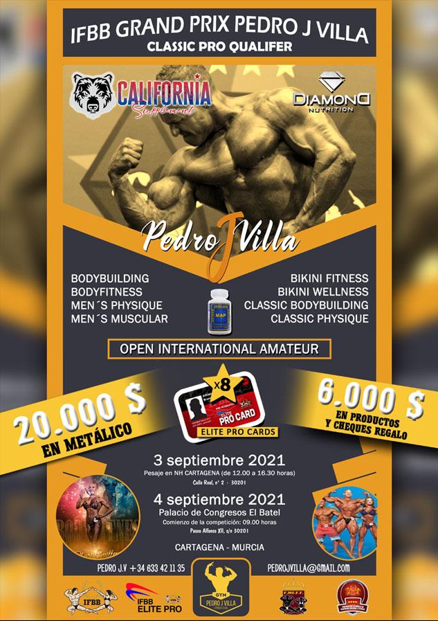 IFBB GRAND PRIX PEDRO J VILLA EL BATEL CARTAGENA
